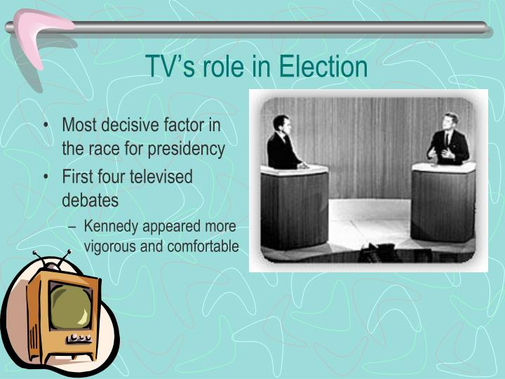 TV's role in Election