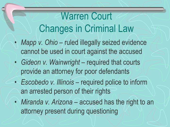 Warren Court
