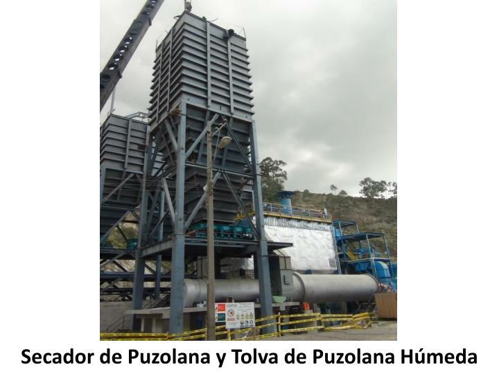 Secador de Puzolana y Tolva de Puzolana