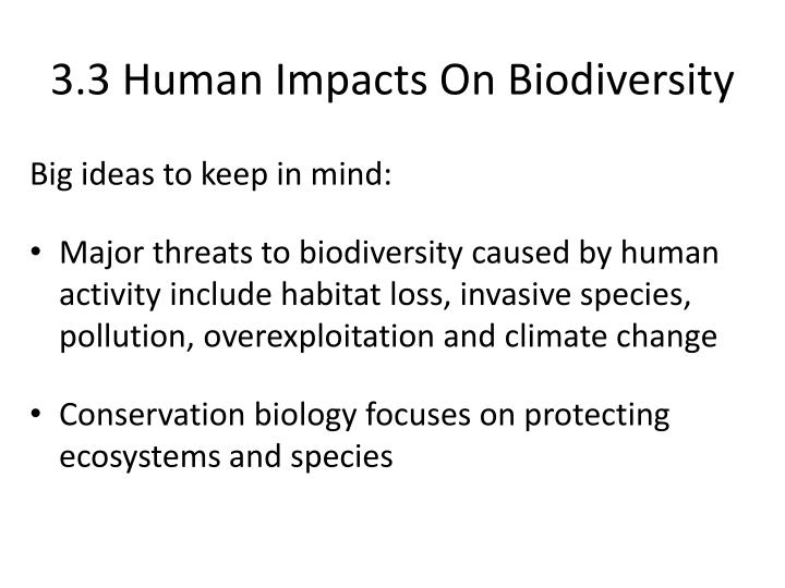 ppt 3 3 human impacts on biodiversity powerpoint presentation id 2314866. Black Bedroom Furniture Sets. Home Design Ideas