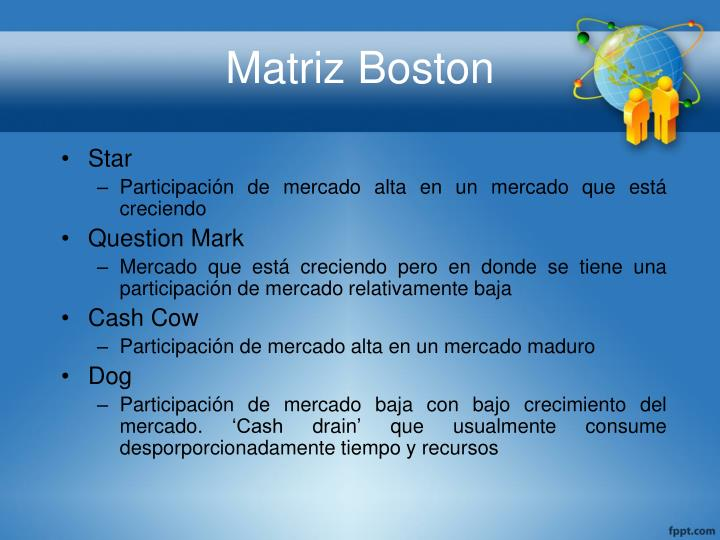 Matriz Boston