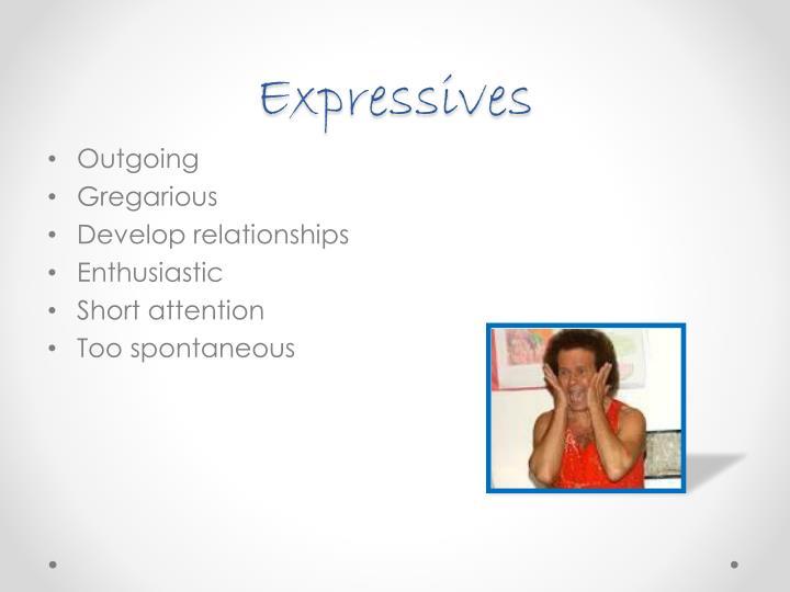 Expressives