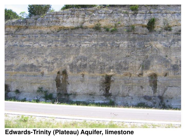 Edwards-Trinity (Plateau) Aquifer, limestone