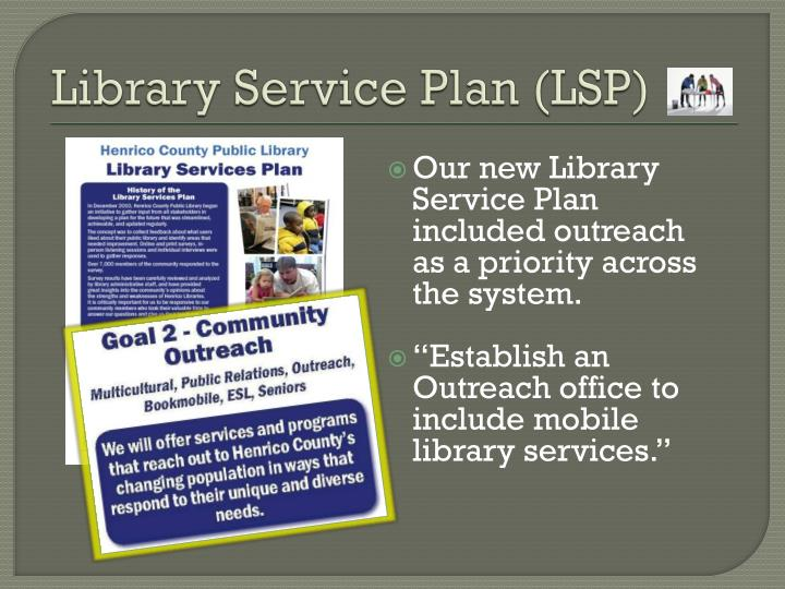 Library Service Plan (LSP)