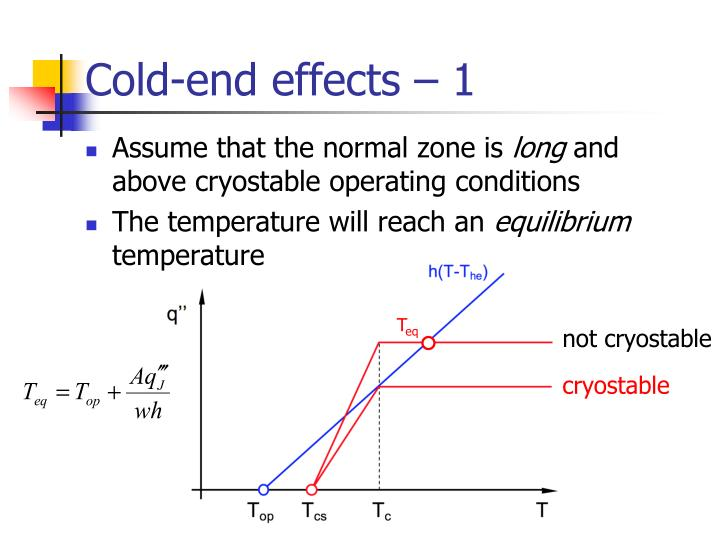 Cold-end