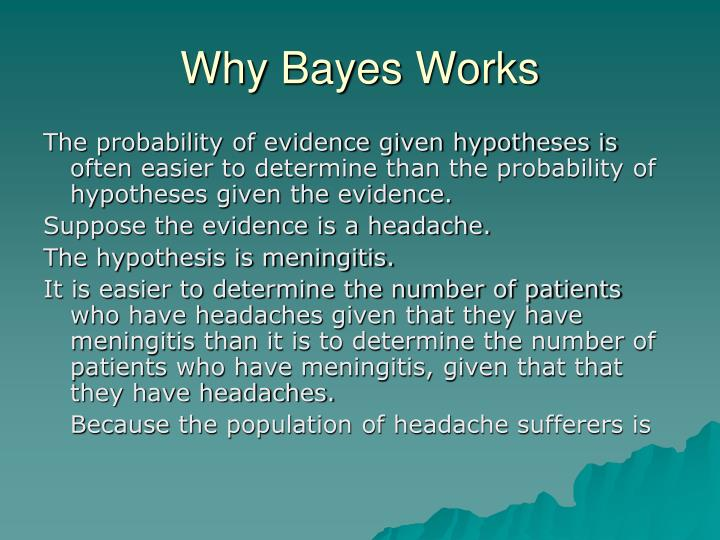 Why Bayes Works