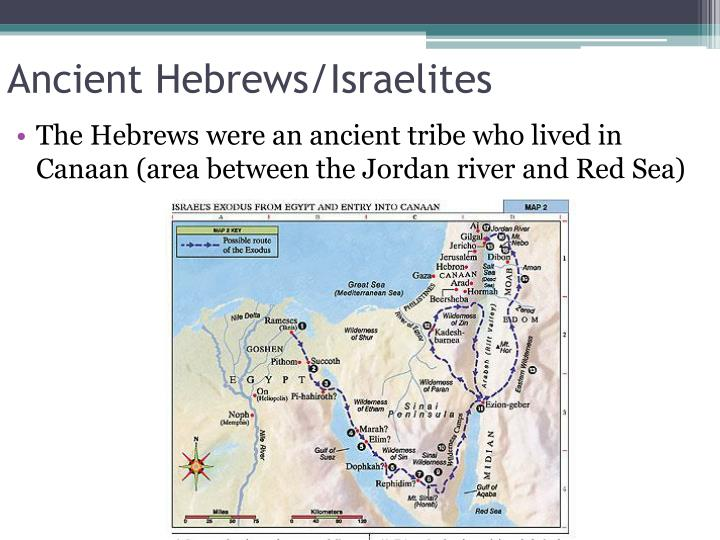 Ancient hebrews israelites