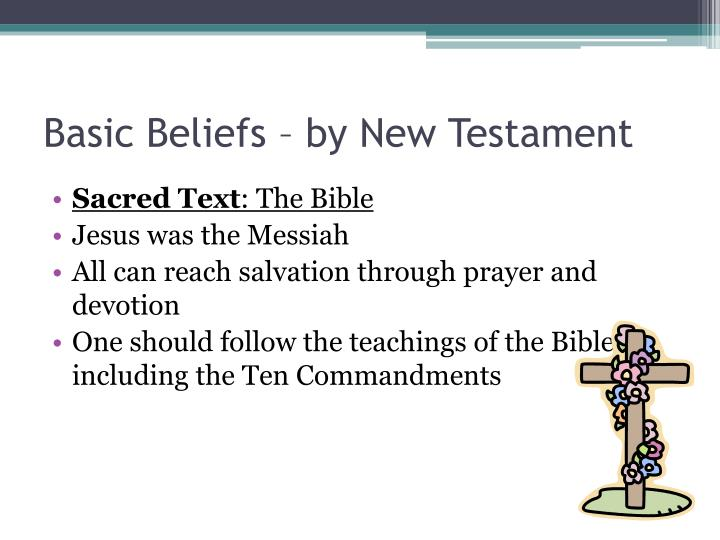 Basic Beliefs – by New Testament