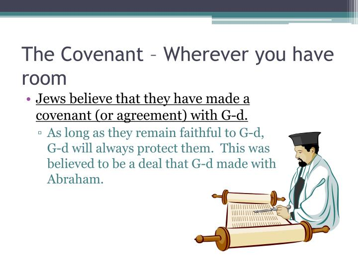 The Covenant – Wherever you have room