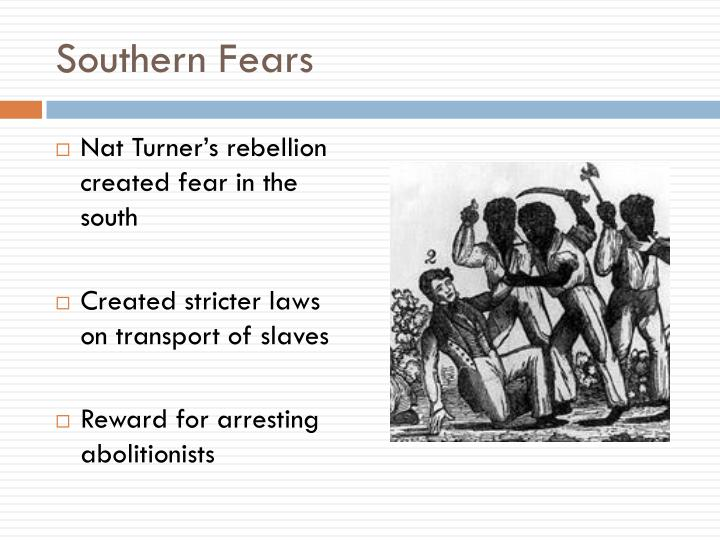Southern Fears