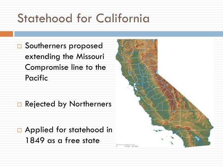 Statehood for California