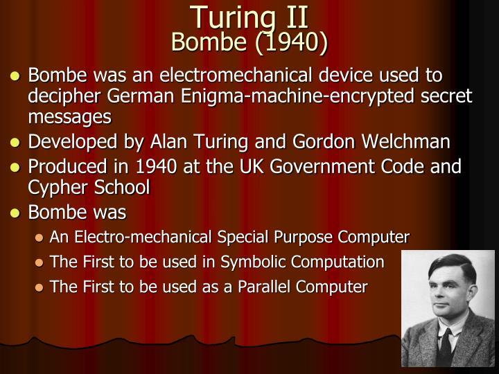 Turing II