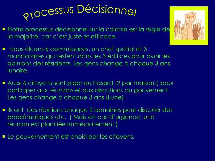 Processus Décisionnel