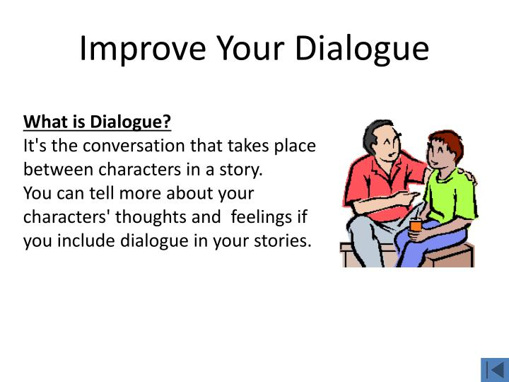 Improve Your Dialogue