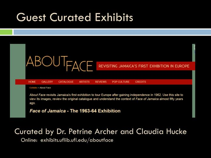 Guest Curated Exhibits