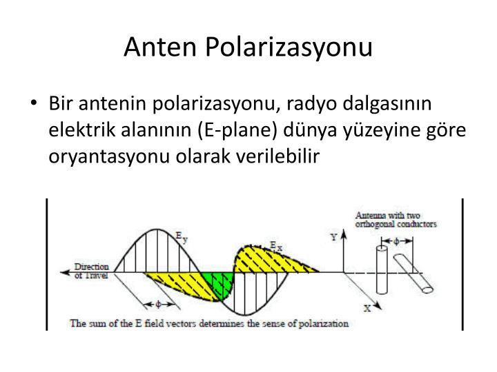 Anten Polarizasyonu