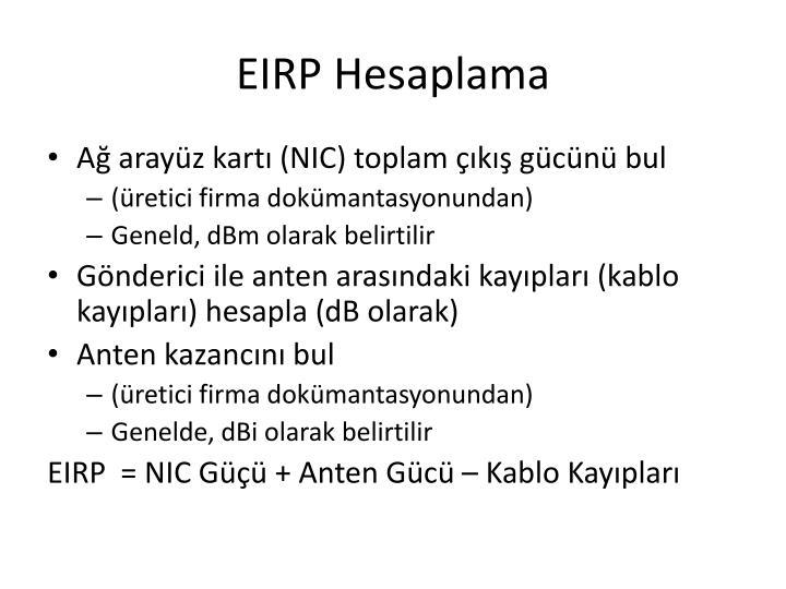 EIRP Hesaplama