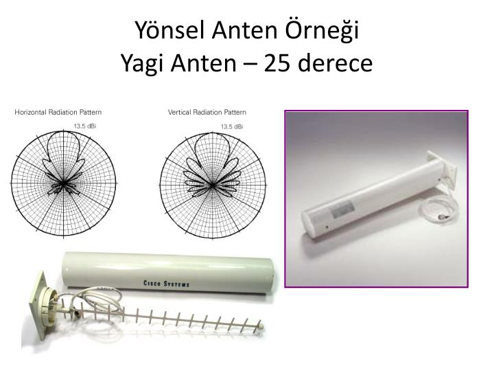 Yönsel Anten Örneği