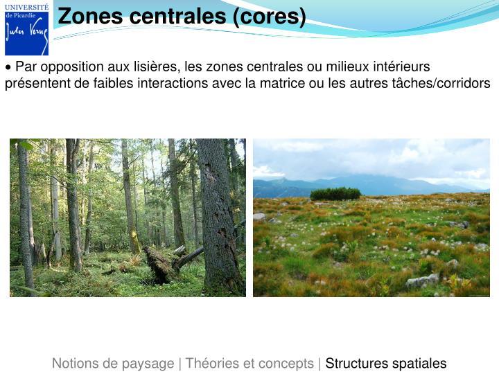 Zones centrales (