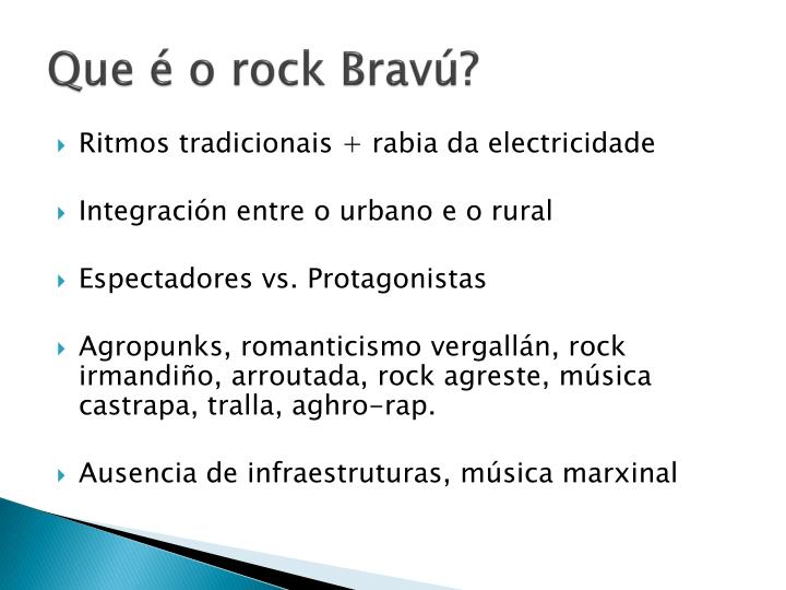 Que é o rock