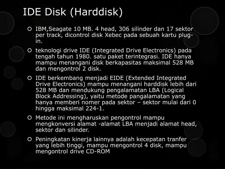 IDE Disk (