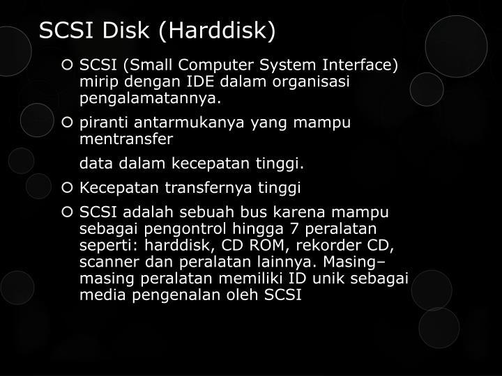 SCSI Disk (