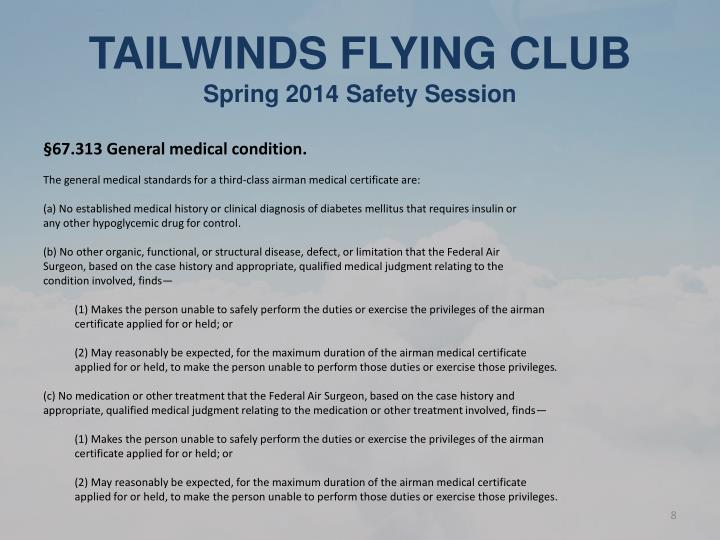TAILWINDS FLYING CLUB