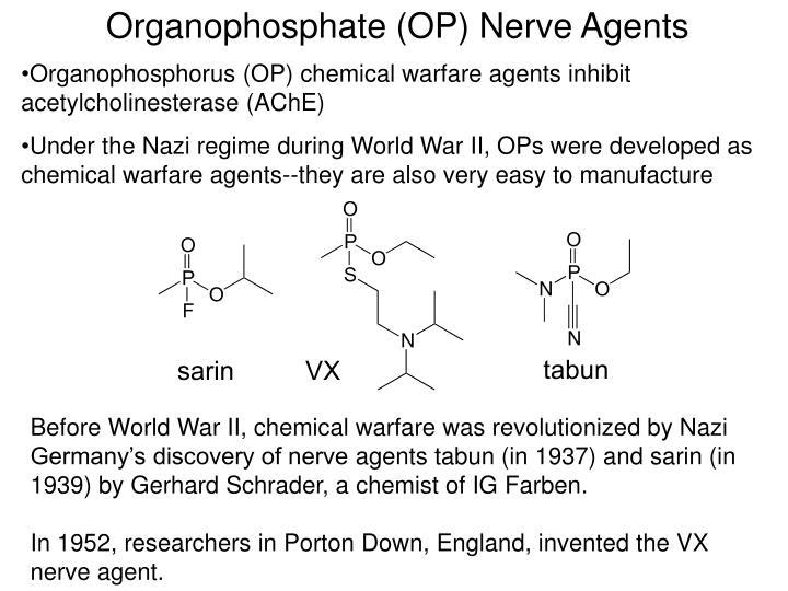 Organophosphate (