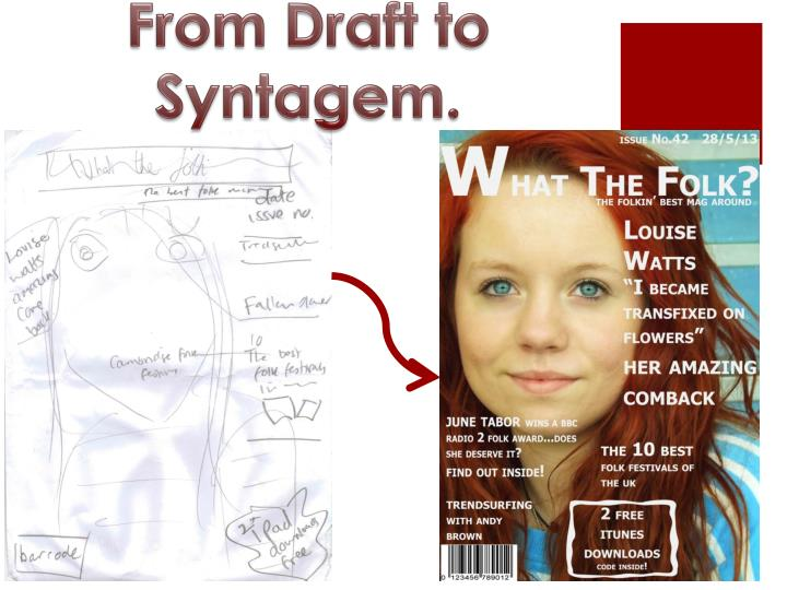 From Draft to Syntagem.