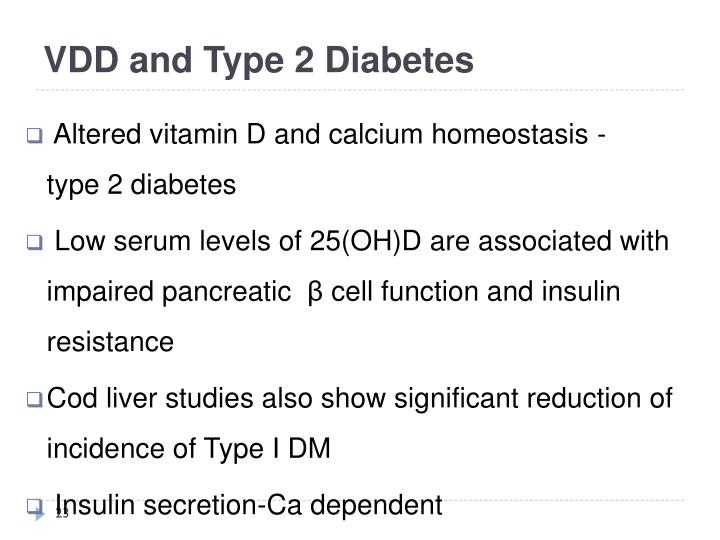 VDD and Type 2 Diabetes