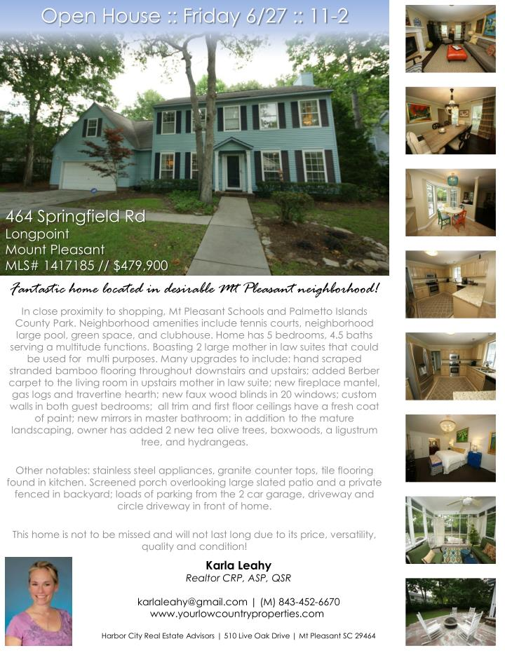 Open house friday 6 27 11 2
