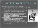 gathering in the russias