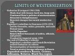 limits of westernization