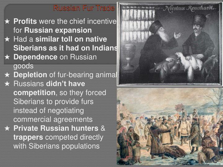 Russian Fur Trade