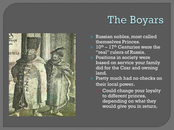 The Boyars