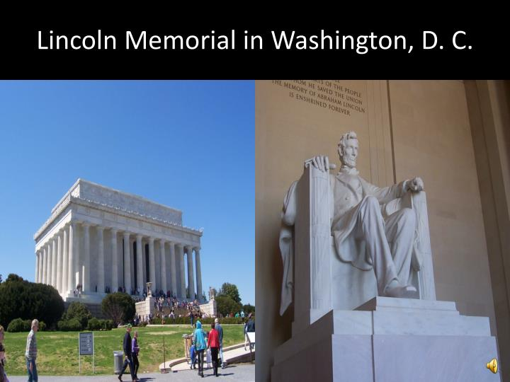 Lincoln memorial in washington d c