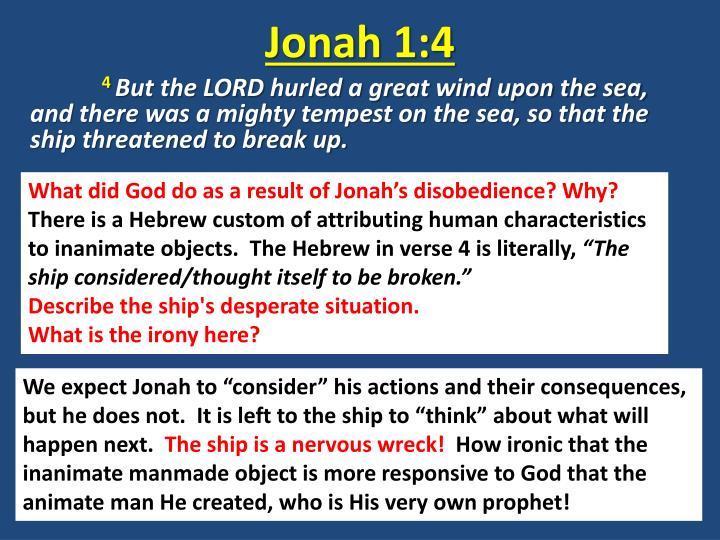 Jonah 1:4
