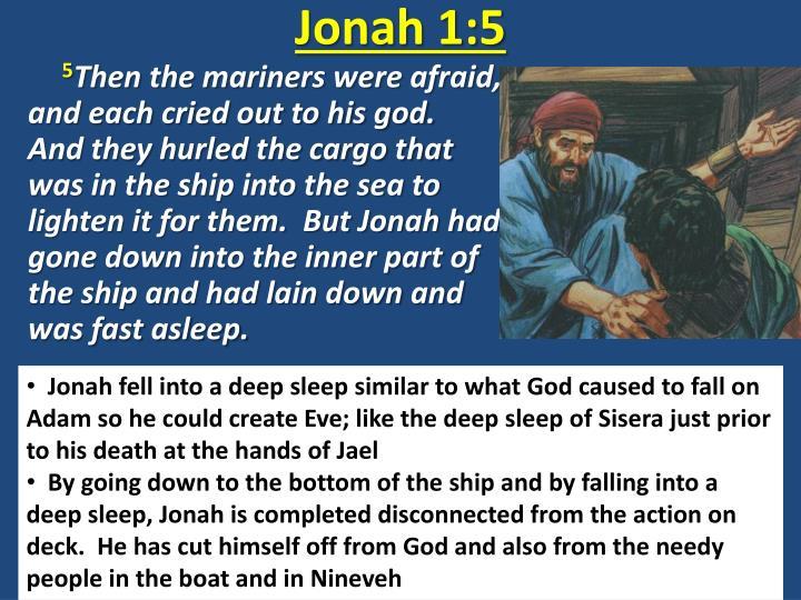 Jonah 1:5