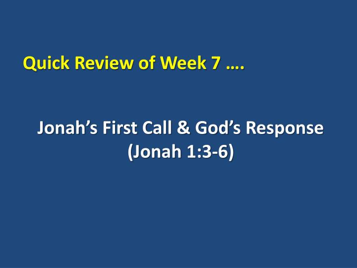 Jonah s first call god s response jonah 1 3 6