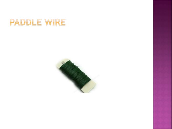 Paddle Wire