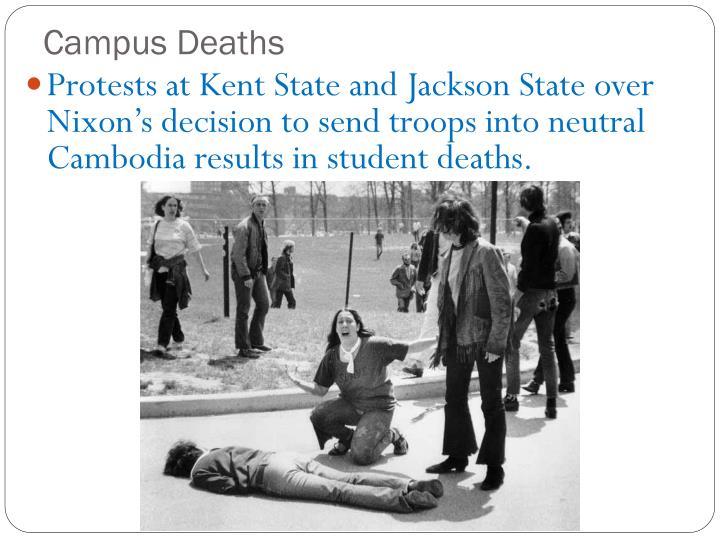 Campus Deaths