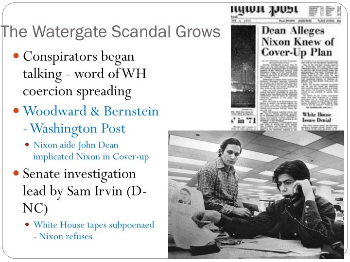The Watergate Scandal Grows