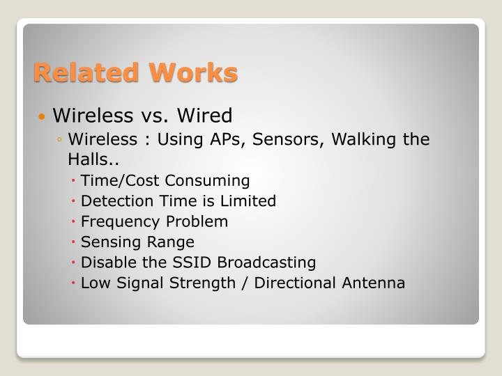 Wireless vs. Wired