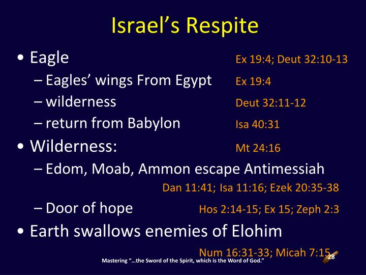 Israel's Respite