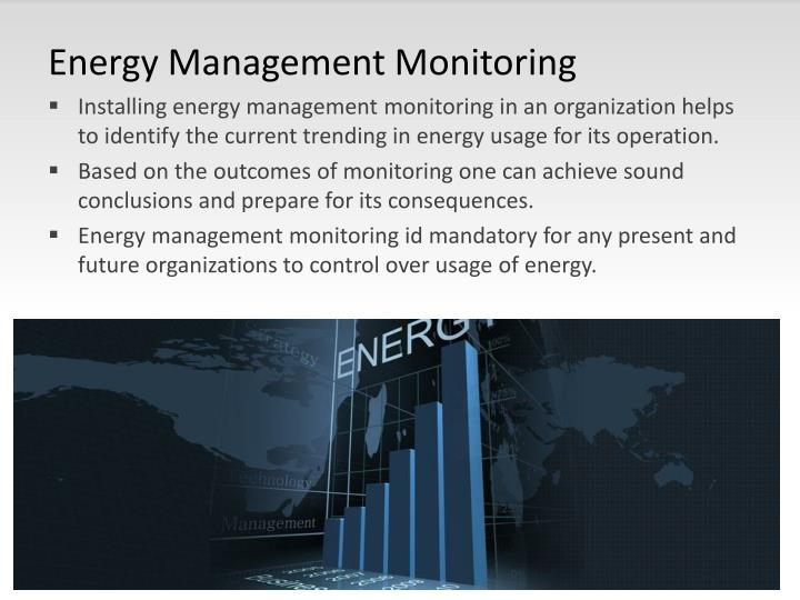 Energy Management Monitoring