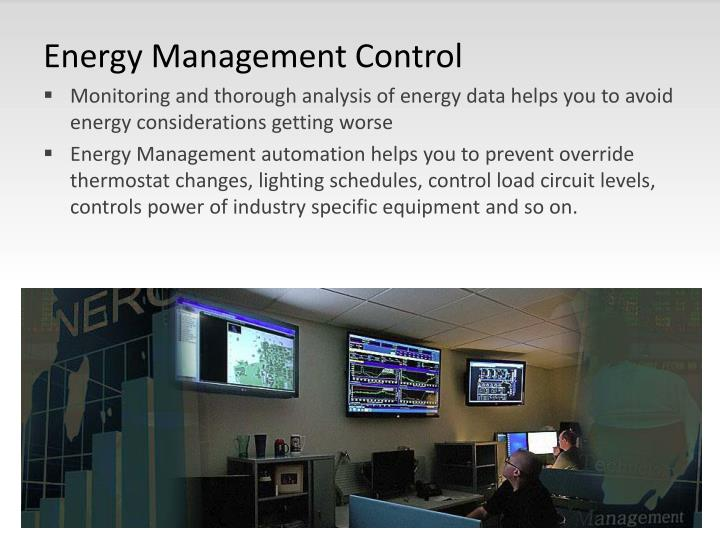 Energy Management Control