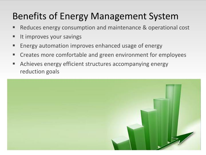 Benefits of Energy Management System