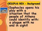 oedipus rex background1