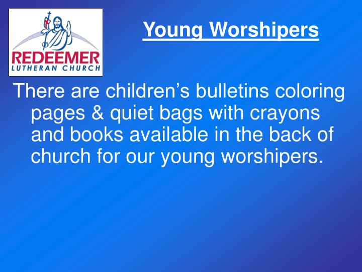 Young Worshipers