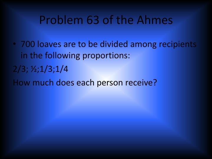 Problem 63 of the